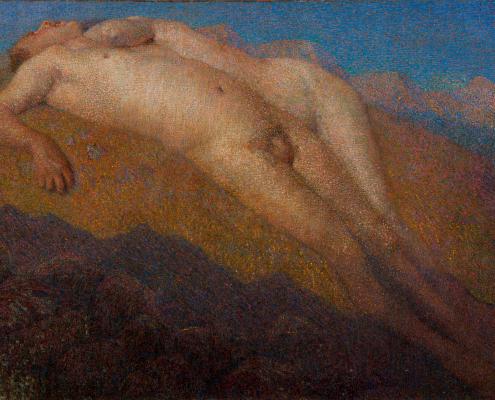 Ira di Dio o La cacciata dall'Eden - Barabino