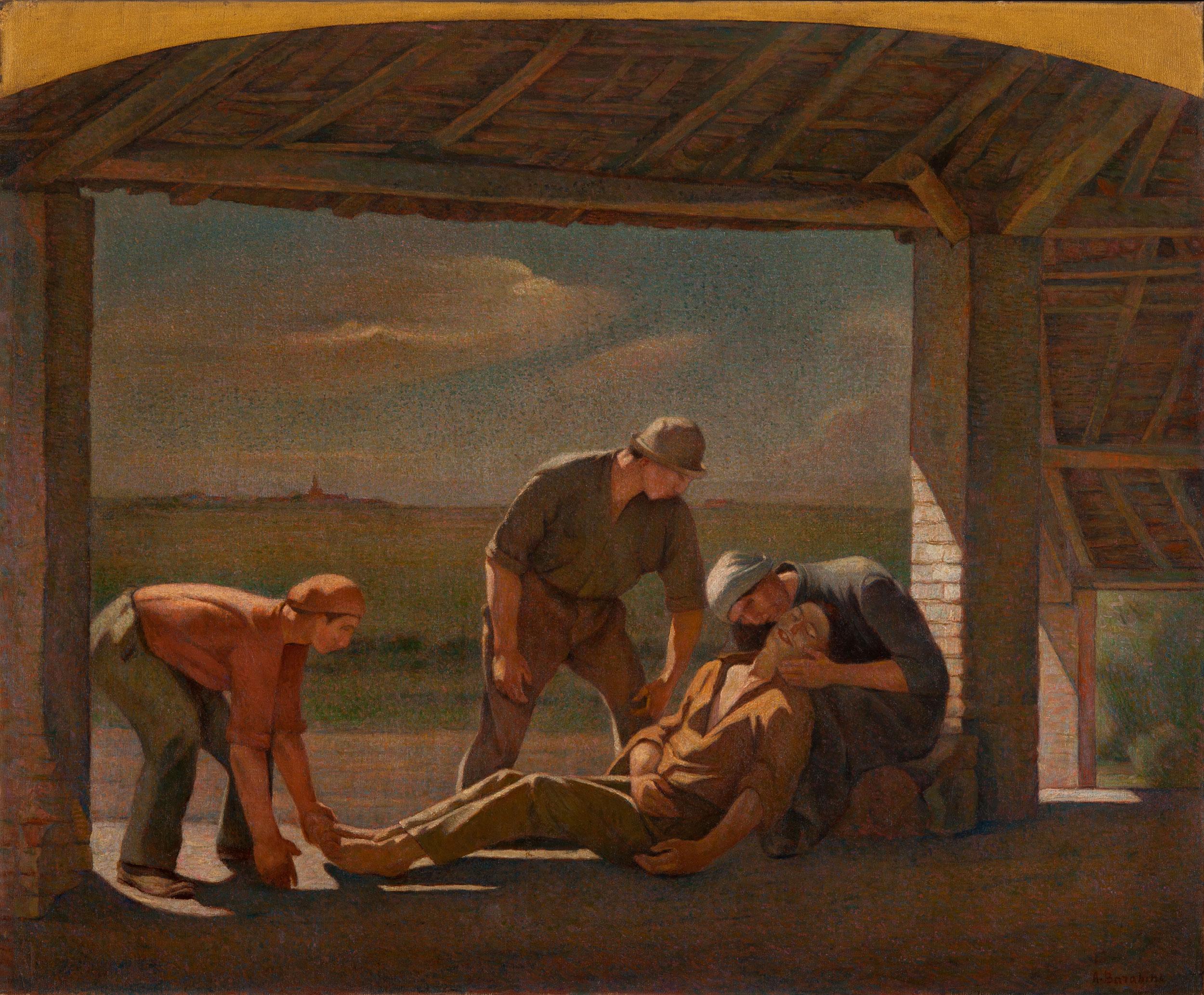 La pietà - Barabino