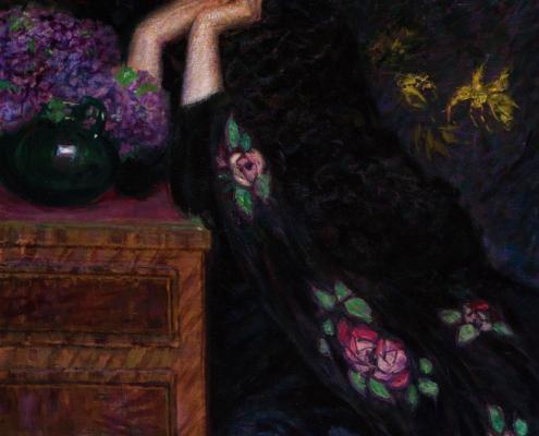 Figura di Donna (Ritratto di Violette) - Lionne