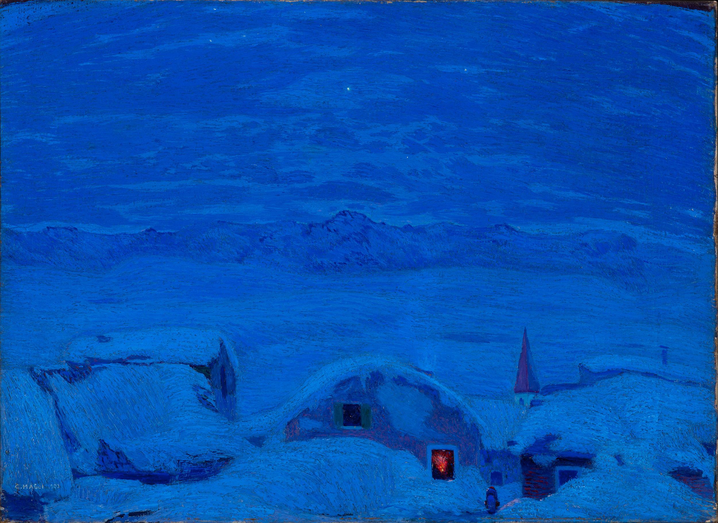 Alba d'inverno - Maggi