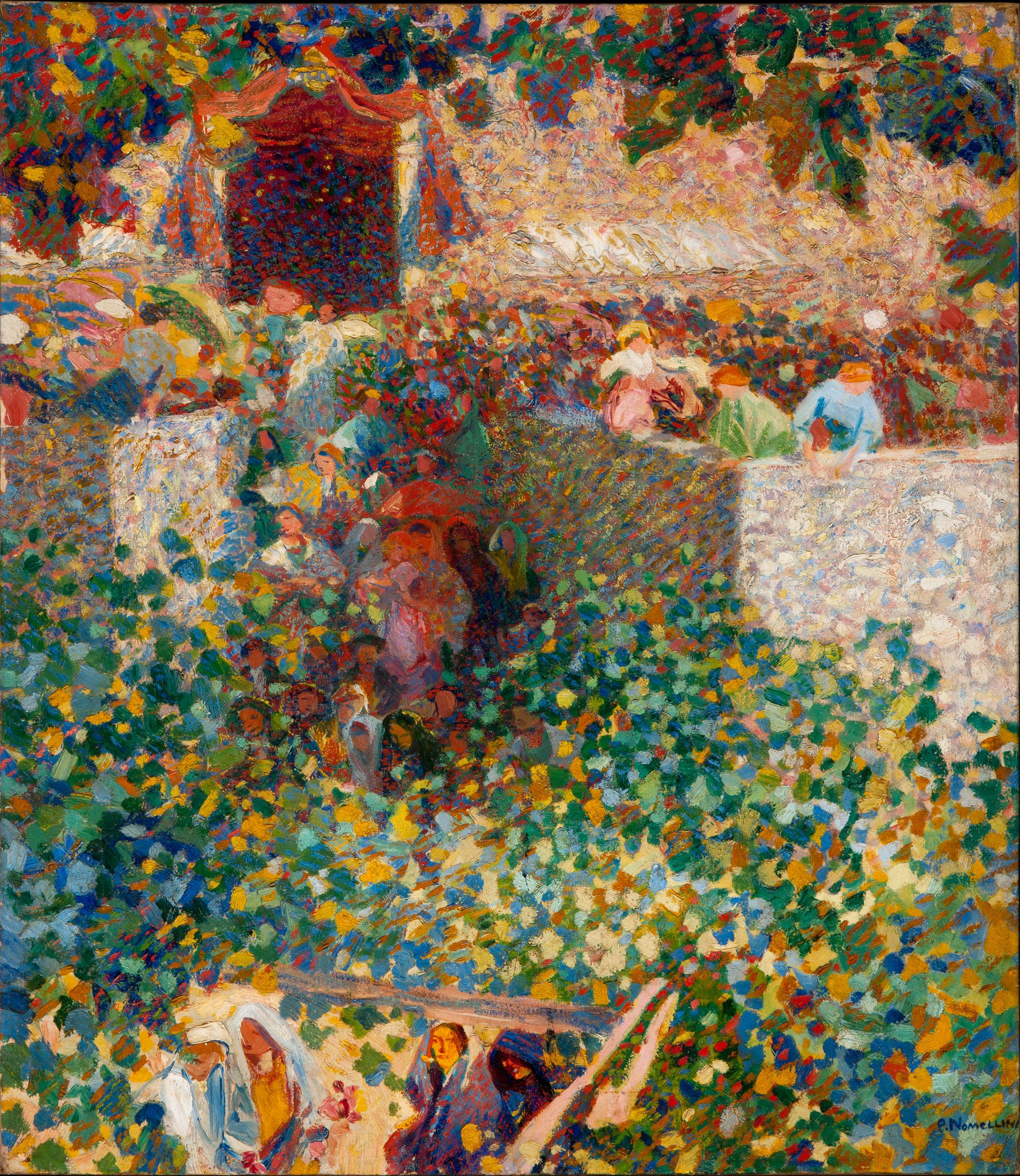 Festa al villaggio - Nomellini