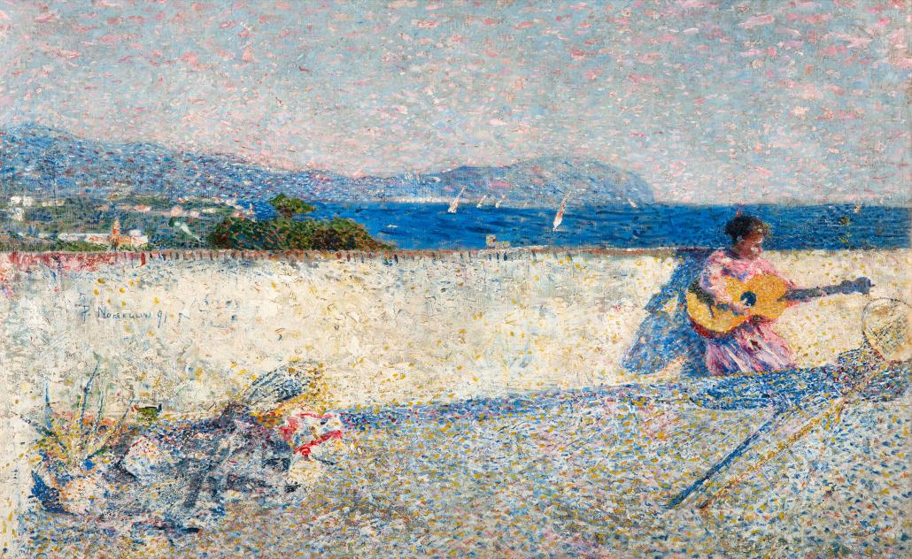 Il golfo di Genova o Marina ligure - Nomellini