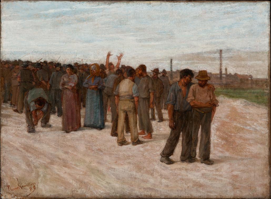 Lo sciopero - Nomellini