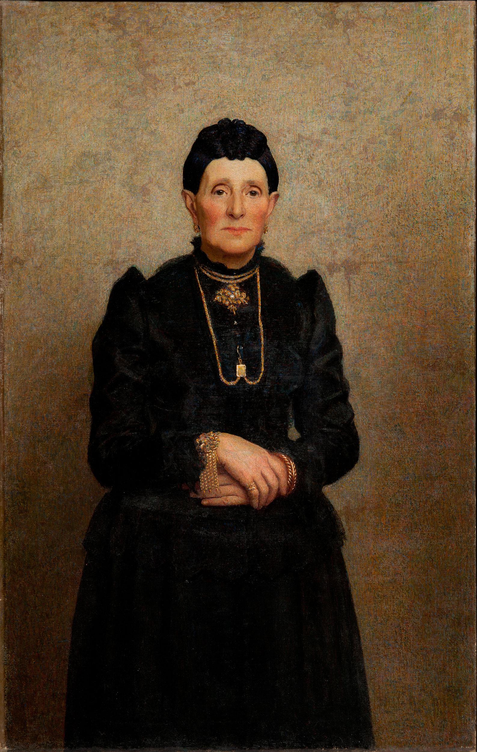 Ritratto della signora Sofia Abbiati (Cocco) - Pellizza da Volpedo