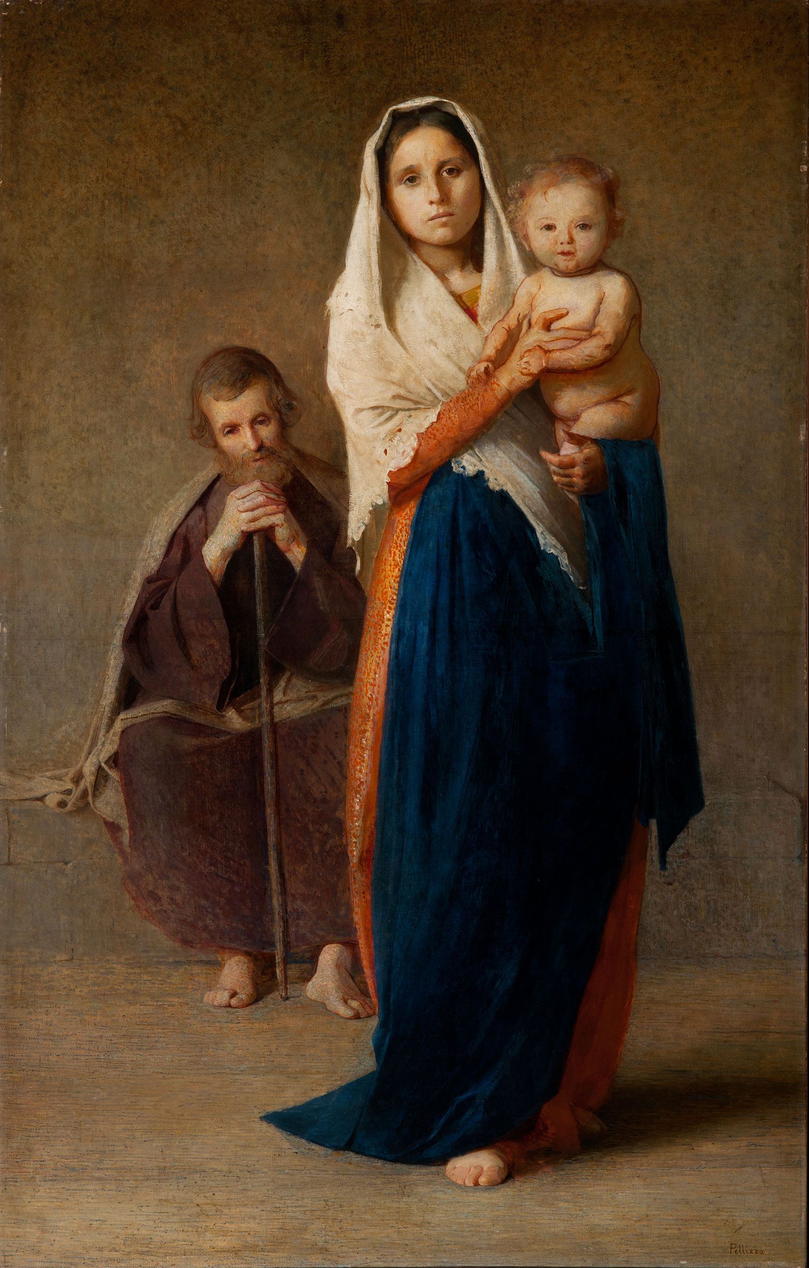 Sacra Famiglia - Pellizza da Volpedo