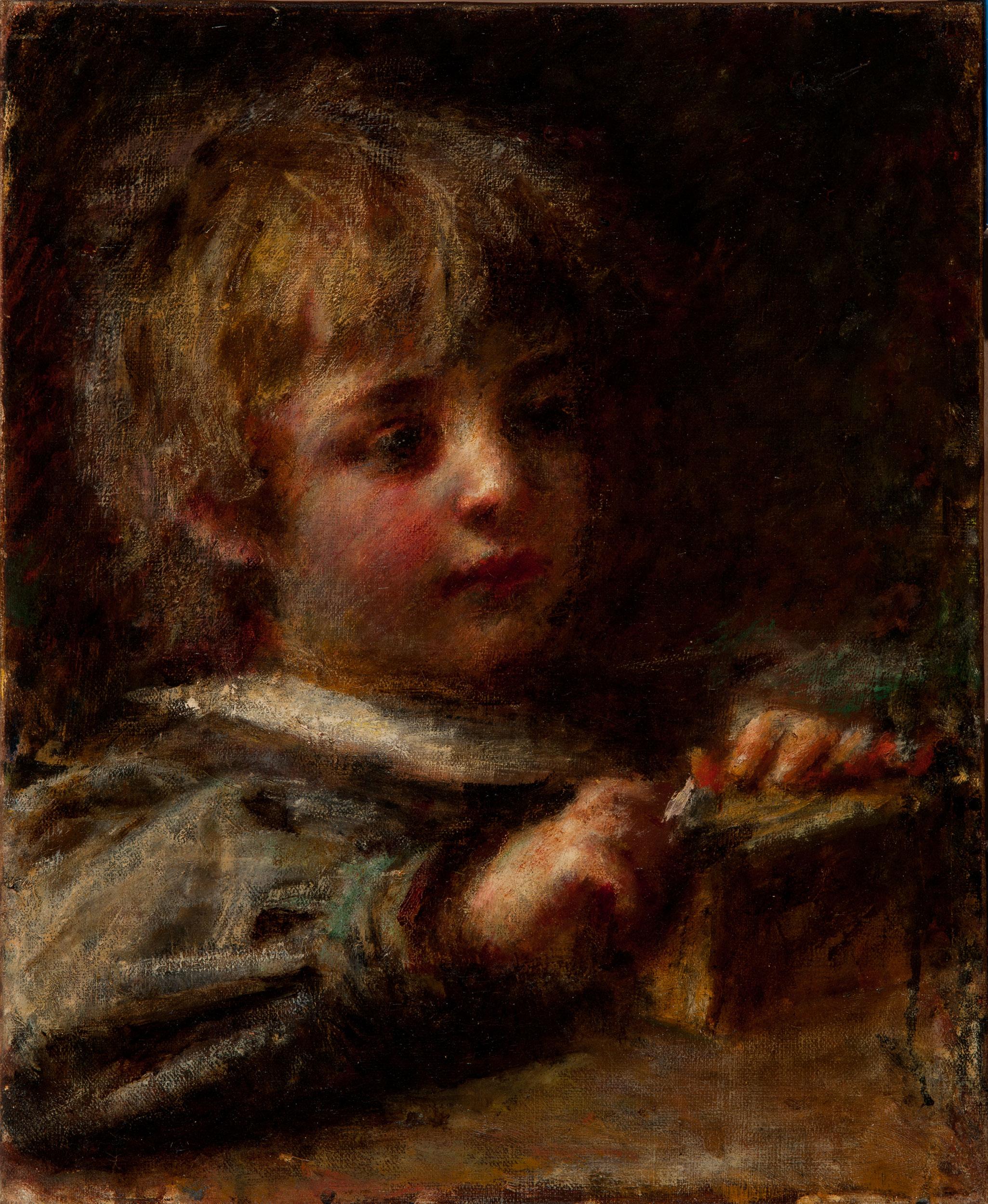 Ritratto di Ettore Nicò - Ranzoni