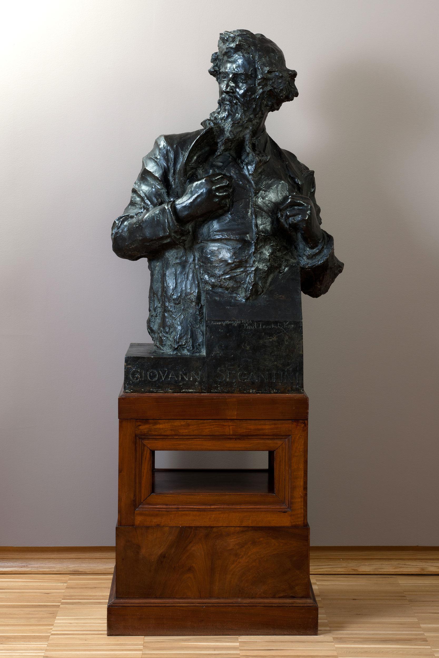 Busto di Segantini - Troubetzkoy