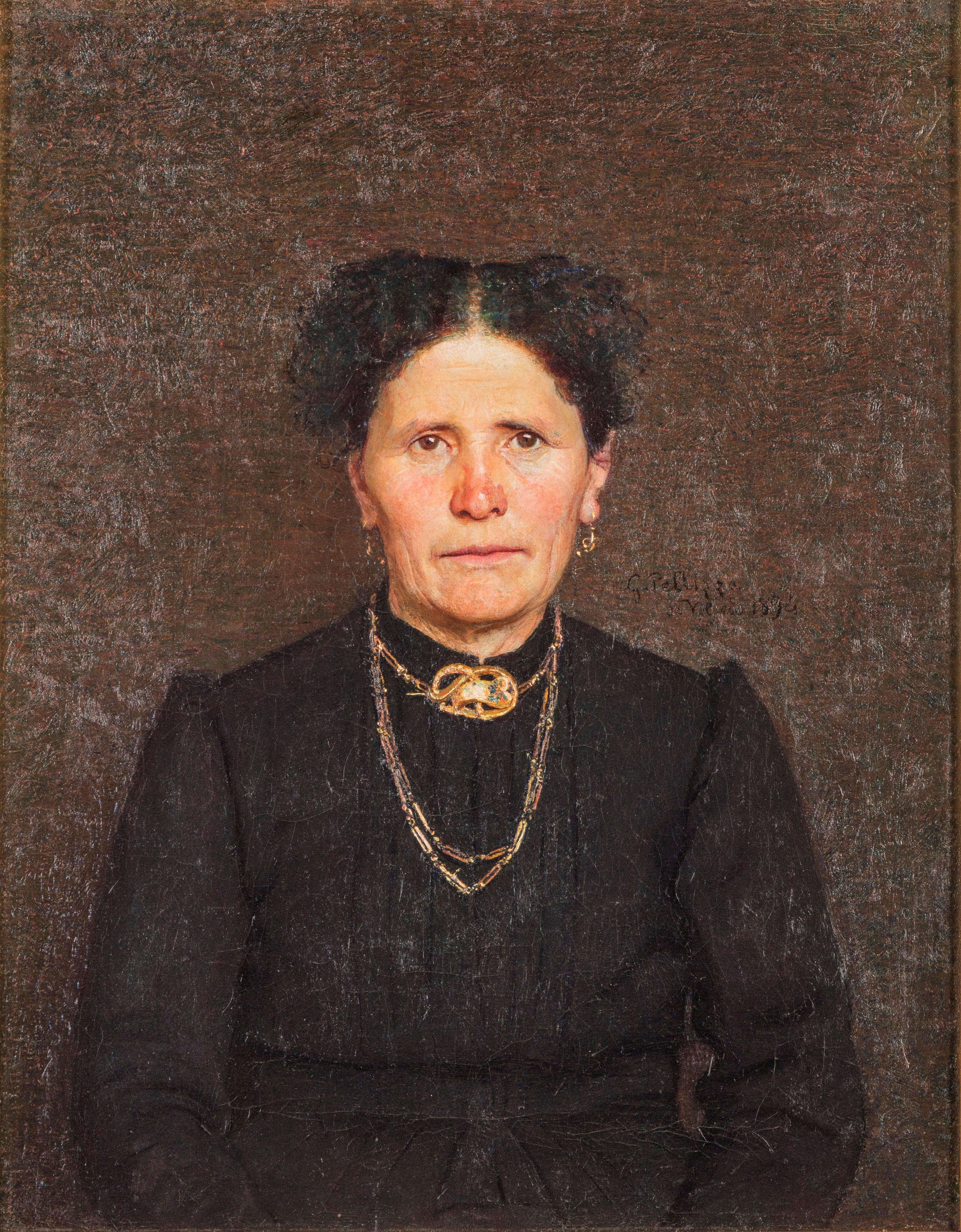 Ritratto della signora Battegazzorre - Giuseppe Pellizza da Volpedo