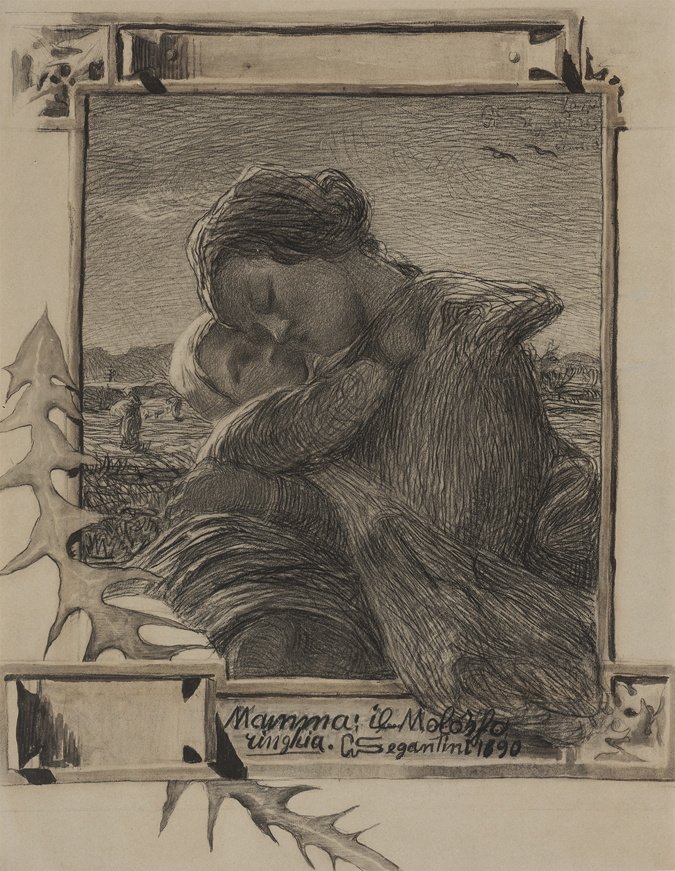 Amore materno - Giovanni Segantini